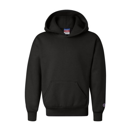 Champion Fleece Double Dry Eco Youth Hooded Sweatshirt S790