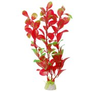 uxcell 2 Pcs Manmade Red Green Underwater Plants Aquarium Decor