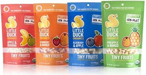 Little Duck Organics Tiny Gummies Fruit & Veggie Snacks, Probiotic, Orange Carrot & Goji,... by LITTLE DUCK ORGANICS