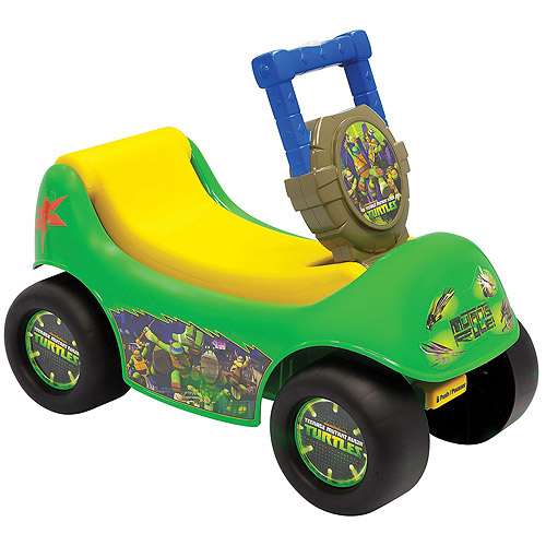 Teenage Mutant Ninja Turtles Happy Hauler Ride-On and Play Wagon