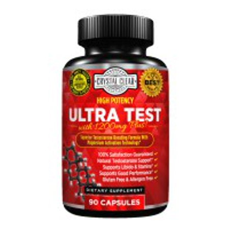 Herbal Testosterone (Ultra Test Natural Testosterone Support - 90 Caps)