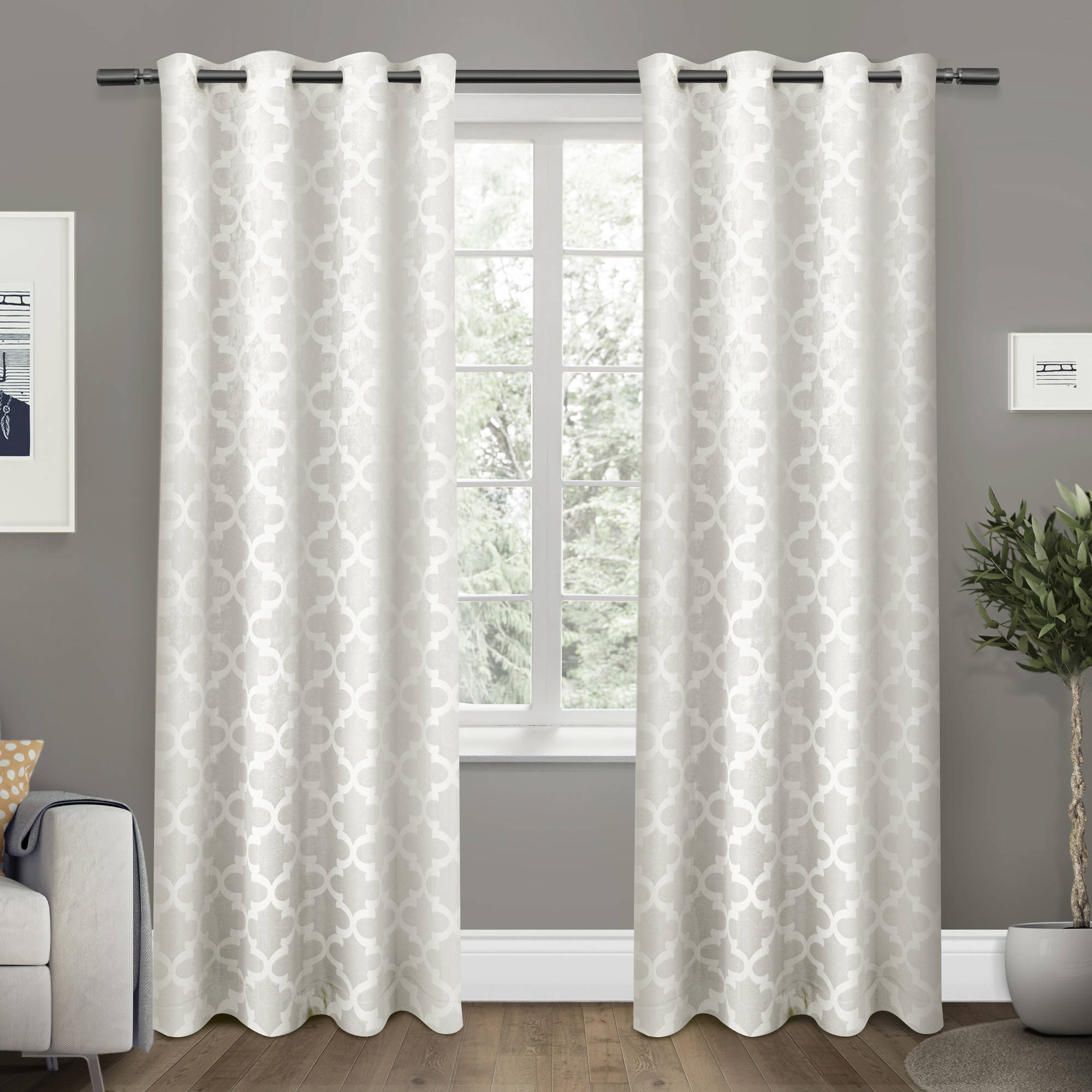 Exclusive Home Cartago Insulated Woven Blackout Grommet Top Window Curtain Panel Pair,... by Exclusive Home