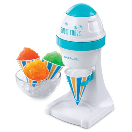 Nostalgia ISM1BL Electric Shaved Ice & Snow Cone (Best Shaved Ice Machine For Home)