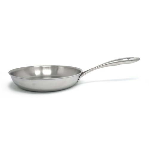 Tuxton Home Duratux Tri-Ply Open 10'' Frying Pan