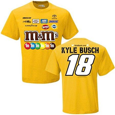 2017 Kyle Busch M   M  39 S Uniform Tee Shirt  Xl