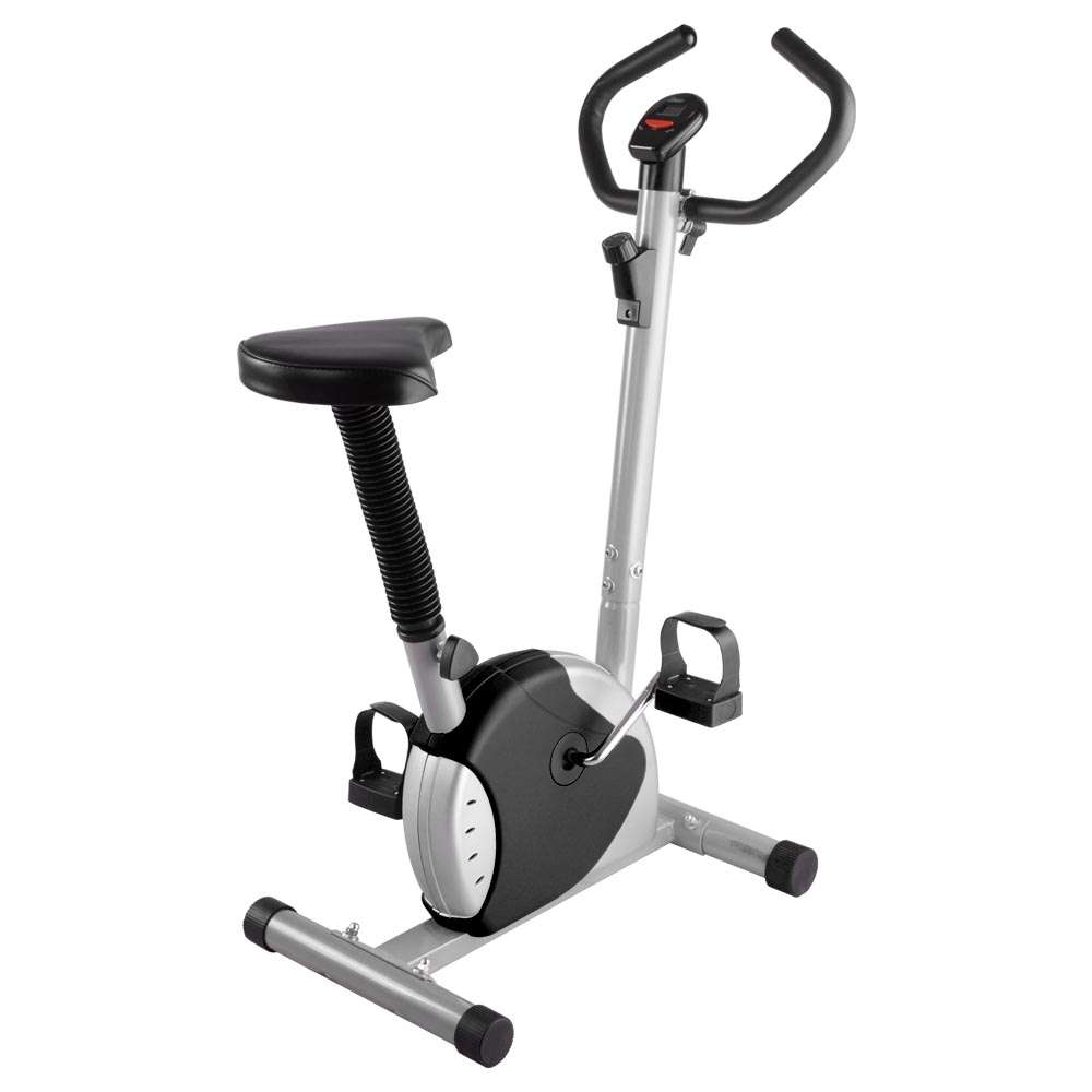 AW Exercise Bike Fitness Cycling Machine Home Personal Gym Cardio Aerobic Equipment Black by AW