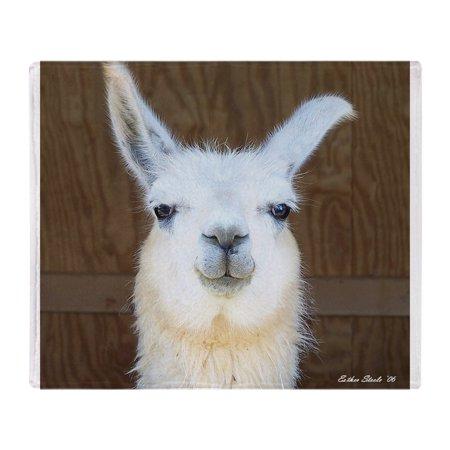 CafePress Llama Soft Fleece Throw Blanket 40x40 Stadium Cool Llama Throw Blanket