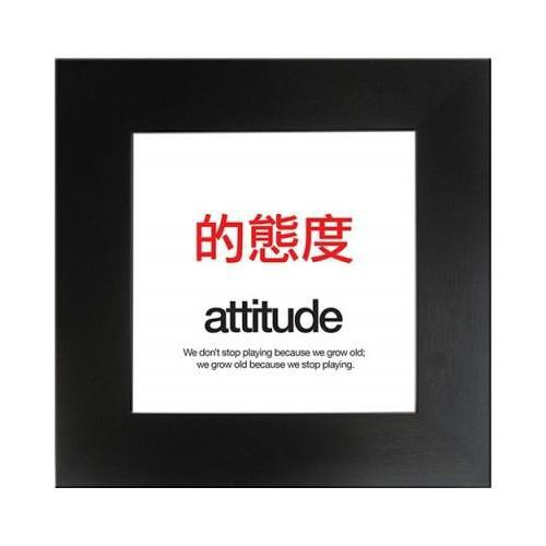 Motivational Poster - 19 x 19 Attitude AUAMPATTITUDE