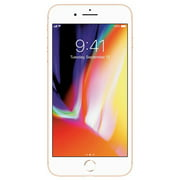 Apple iPhone 8 Plus 256GB Gold Fully Unlocked (Verizon + AT&T + T-Mobile + Sprint) Smartphone - Grade A Refurbished