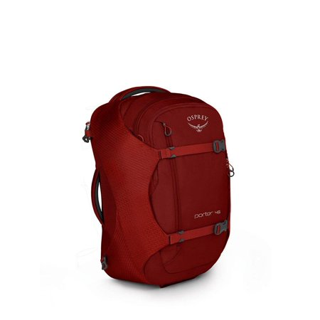 Osprey Packs Porter 46 Travel Backpack Diablo Red (Osprey Porter 46 Travel Pack)