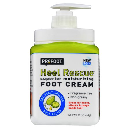 Profoot Care Heel Rescue Superior Moisturizing Foot Cream, 16 Oz (Foot Therapy Peppermint Foot Cream)