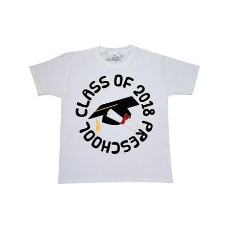 2018 Preschool Graduation Cap Youth T-Shirt - Preschool Graduation Shirts