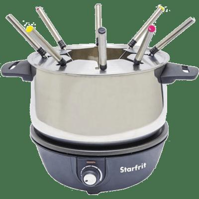 Starfrit 024700-004-0000 Electric Fondue Set, 8 Person ()