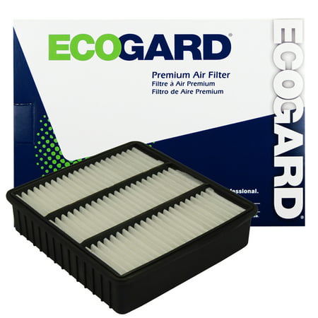 Mitsubishi Green Air Filter (ECOGARD XA5244 Premium Engine Air Filter Fits Mitsubishi Lancer, Mirage,)