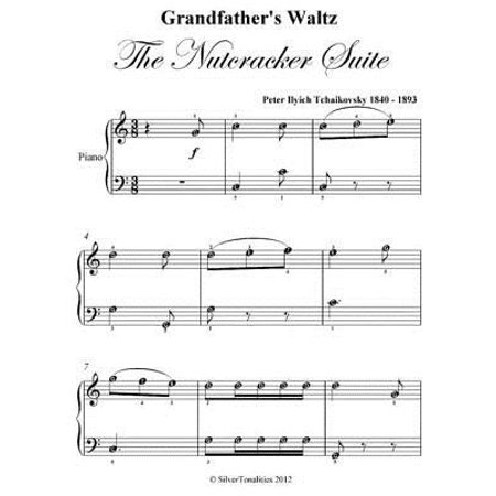 Grandfather's Waltz the Nutcracker Suite Easy Piano Sheet Music Pdf - eBook