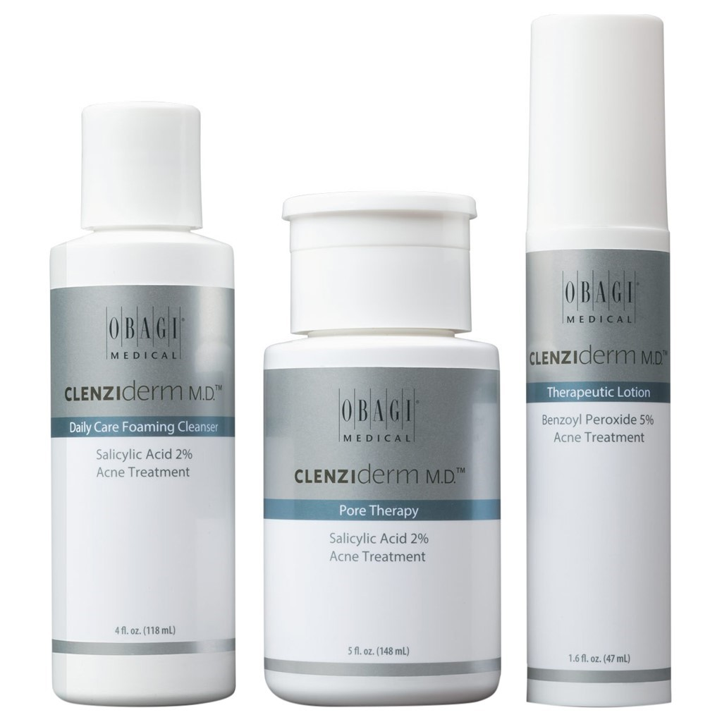 Obagi Clenziderm MD Acne Theraputic System Kit