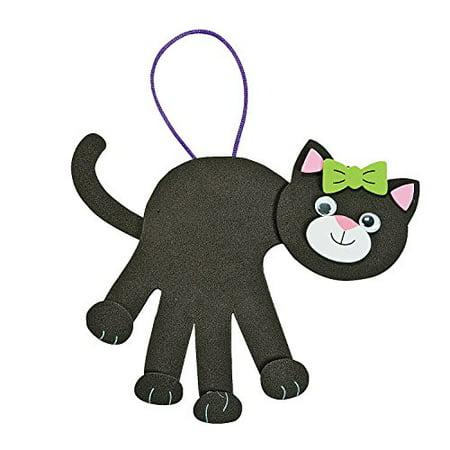 Black Cat Handprint Craft Kit