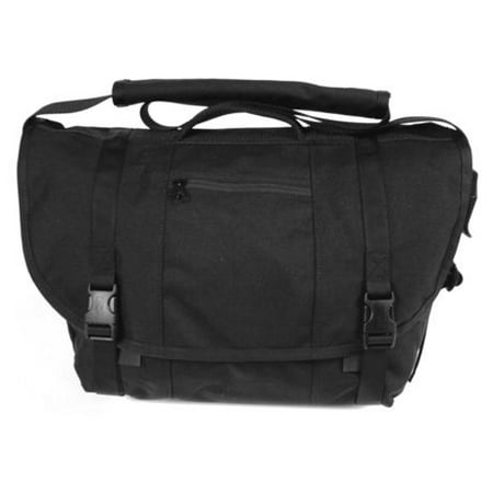 BLACKHAWK! 60MB01BK Messenger Bag Covert Carry, Black thumbnail