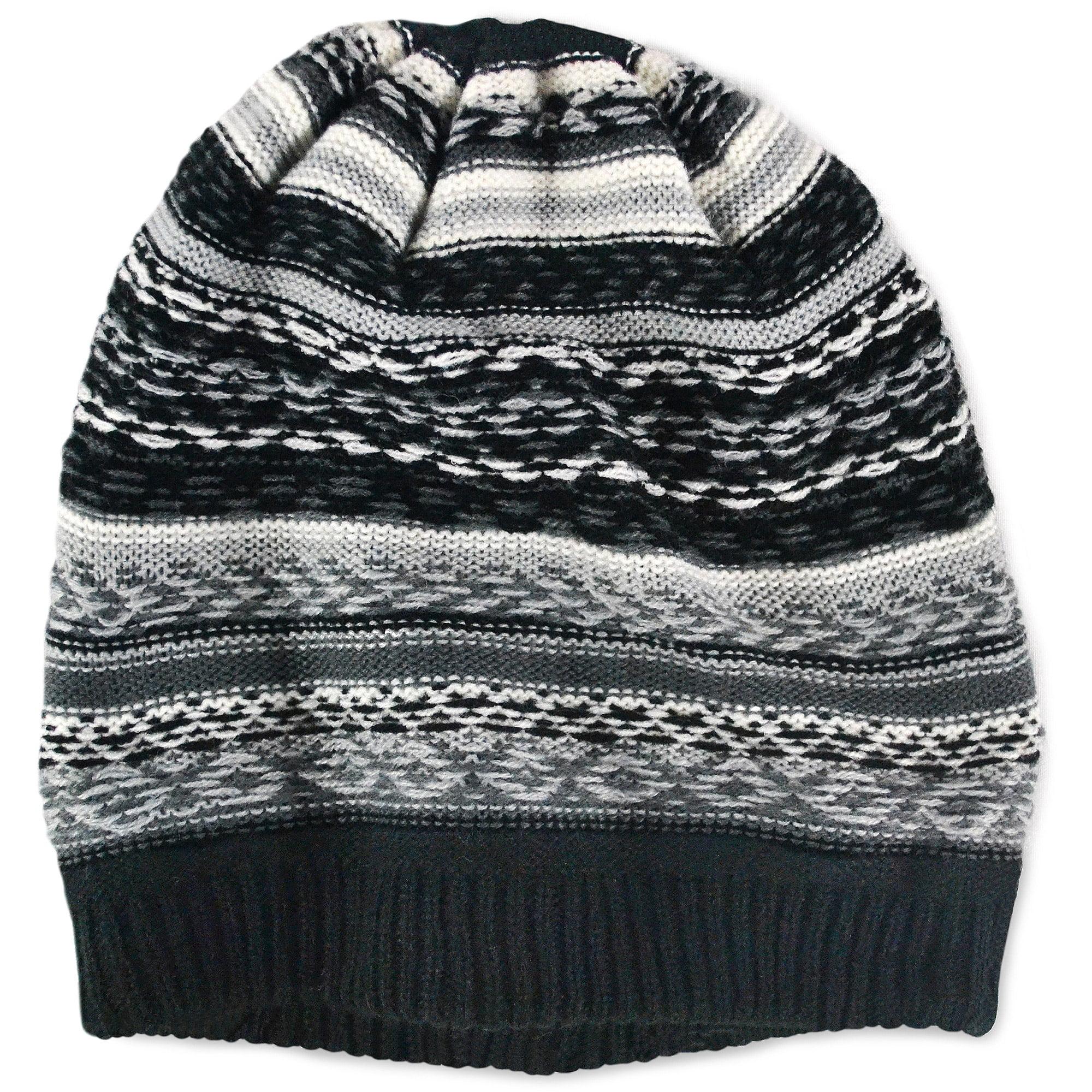 C.C - C.C Women s Thick Soft Knit Beanie Cap Hat - Walmart.com 97efca631e2