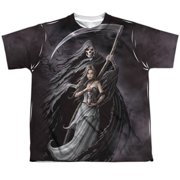 Anne Stokes - Summon The Reaper - Youth Short Sleeve Shirt - Medium