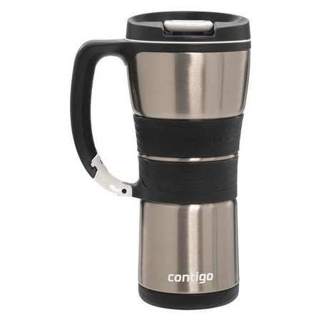 CONTIGO 16 oz. Silver Insulated Mug EXJ110B01
