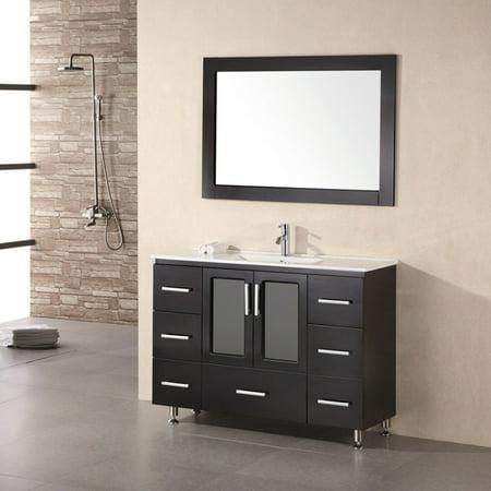 Design Element B48-DS Stanton 48-in. Single Bathroom Vanity Set