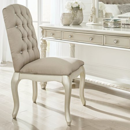 Signature Design by Ashley Cassimore Upholstered Vanity Chair