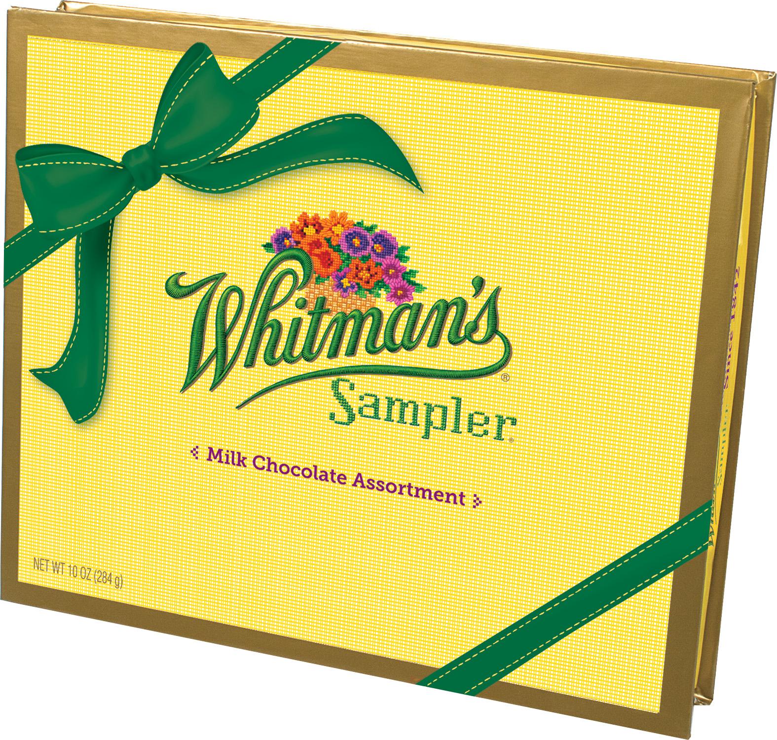Whitman's All Milk Sampler Box, 10oz