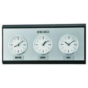 Seiko Seiko 3-City World Time Wall Clock - 13.75 in. Wide