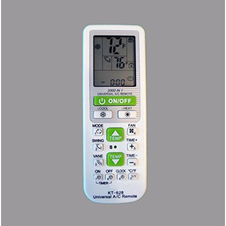 Universal A/C Remote Replacement Remote Control with 2000 Codes - image 1 of 1
