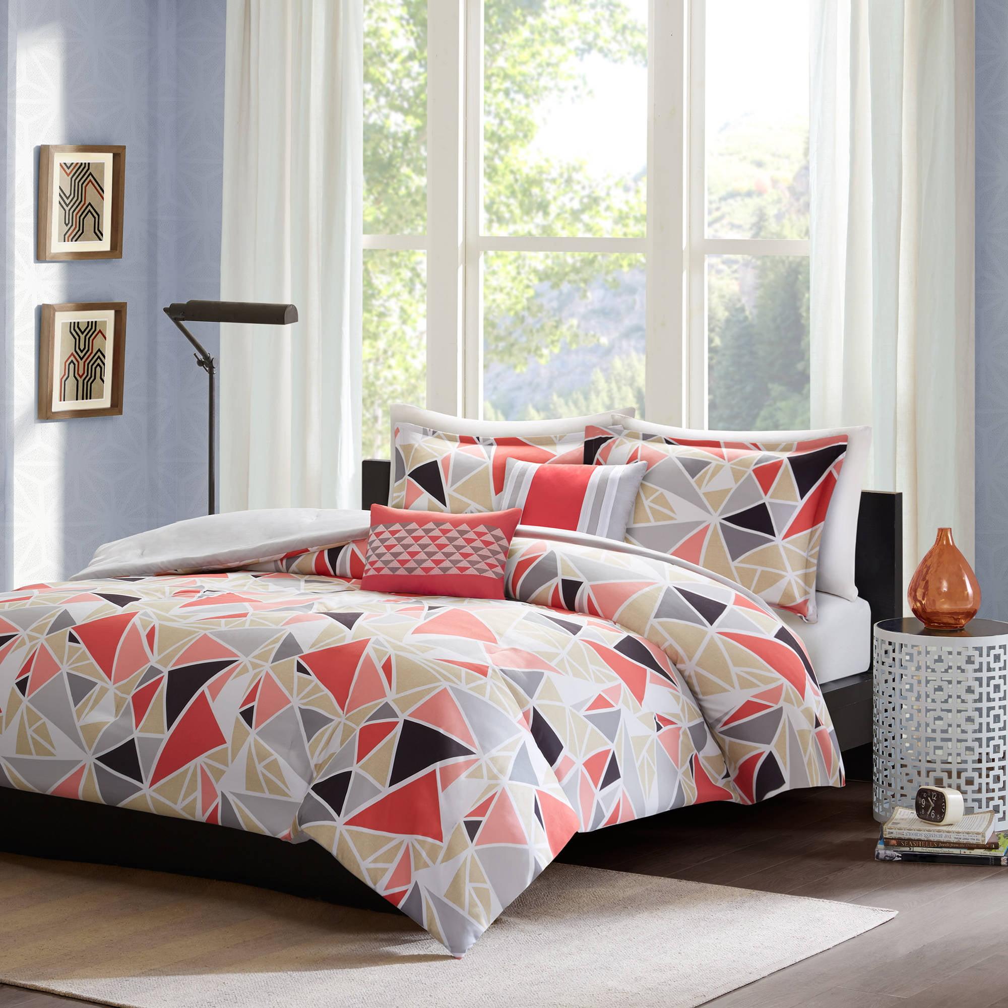 Home Essence Apartment Jasmine 4-Piece Comforter Set