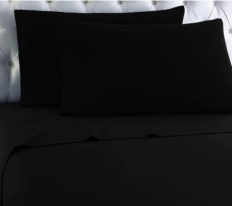 black flannel sheets