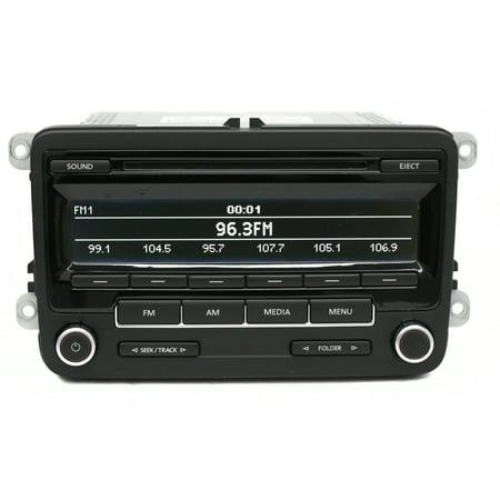 Volkswagen 12 16 Beetle Jetta Gli Pat Am Fm Radio Cd Code Included 1k0035164d Refurbished