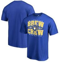 Milwaukee Brewers Fanatics Branded Hometown T-Shirt - Royal