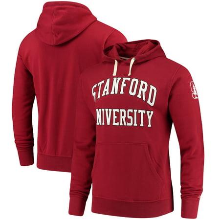 Stanford Cardinal League Stadium Collection University Pullover Hoodie - Cardinal