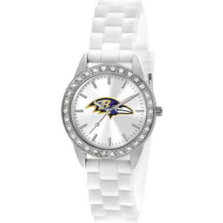 Game Time Women's Baltimore Ravens Frost Series Watch (Baltimore Ravens Fan Series Watch)