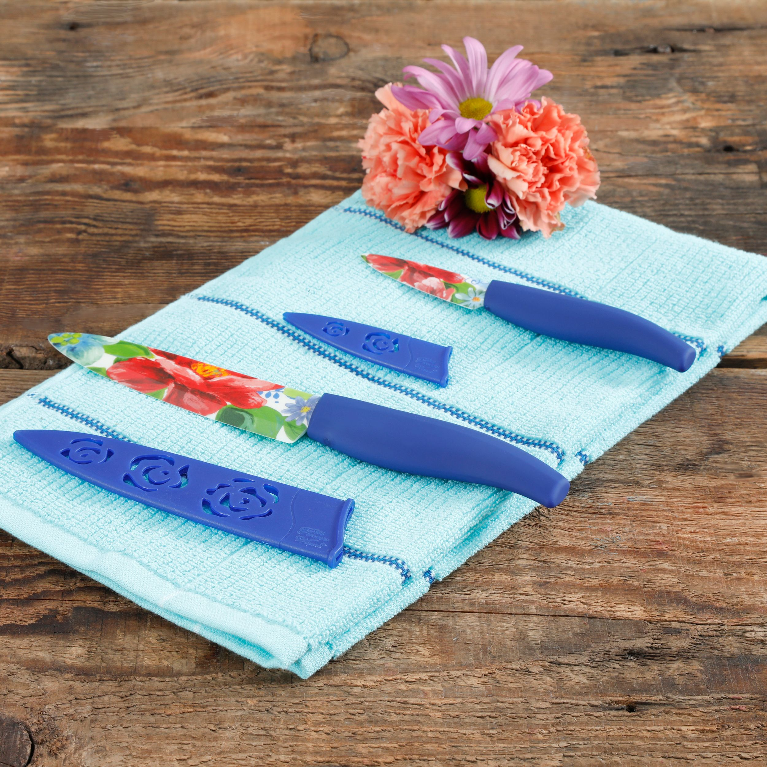 The Pioneer Woman Spring Bouquet 2-Piece Ceramic Cutlery Set