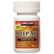 Equate Maximum Strength Nighttime Sleep Aid Softgels 50 Mg 96 Ct Walmart Com Walmart Com