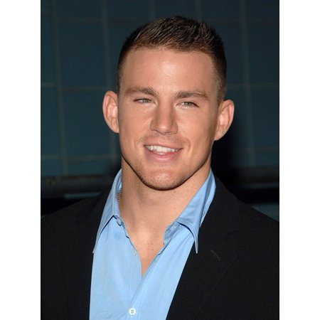 Channing Tatum At Arrivals For A Guide To Recognizing Your Saints Premiere Rolled Canvas Art     8 X 10