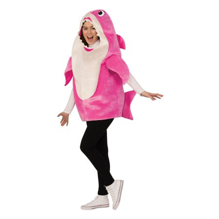 Cute Mommy And Baby Halloween Costumes (Baby Shark - Mommy Shark Adult)