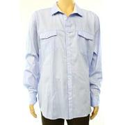 INC NEW Light Blue Mens Size 2XL Long Sleeve Liam Button Down Shirt