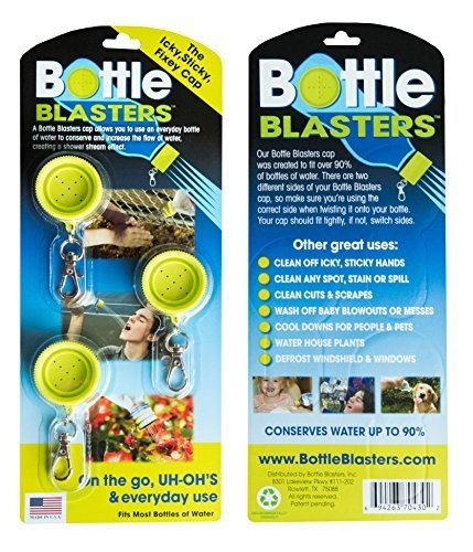 Bottle Blasters Water Bottle Cap Mobile Shower, Pet Shower Sprayer, Pet Bath Tool, Portable Camping Shower Outdoor by