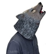 Howling Wolf Latex Costume Mask