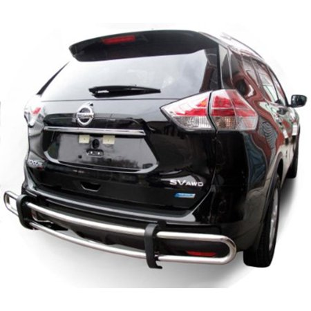 Bumper Guard For Suv >> Black Horse Rear Bumper Guard 8d116701dss For 08 13 Nissan Rogue Ss Rear Bumper Guard Double Tube 2014 2015 Rogue Select