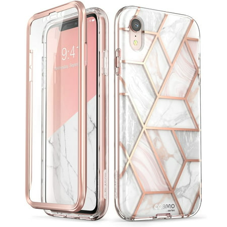 competitive price 2d291 9c5c5 iPhone XR Case, [Scratch Resistant] i-Blason [Cosmo] Full-Body Bling  Glitter Sparkle Clear Bumper Case with Built-in Screen Protector for iPhone  XR ...