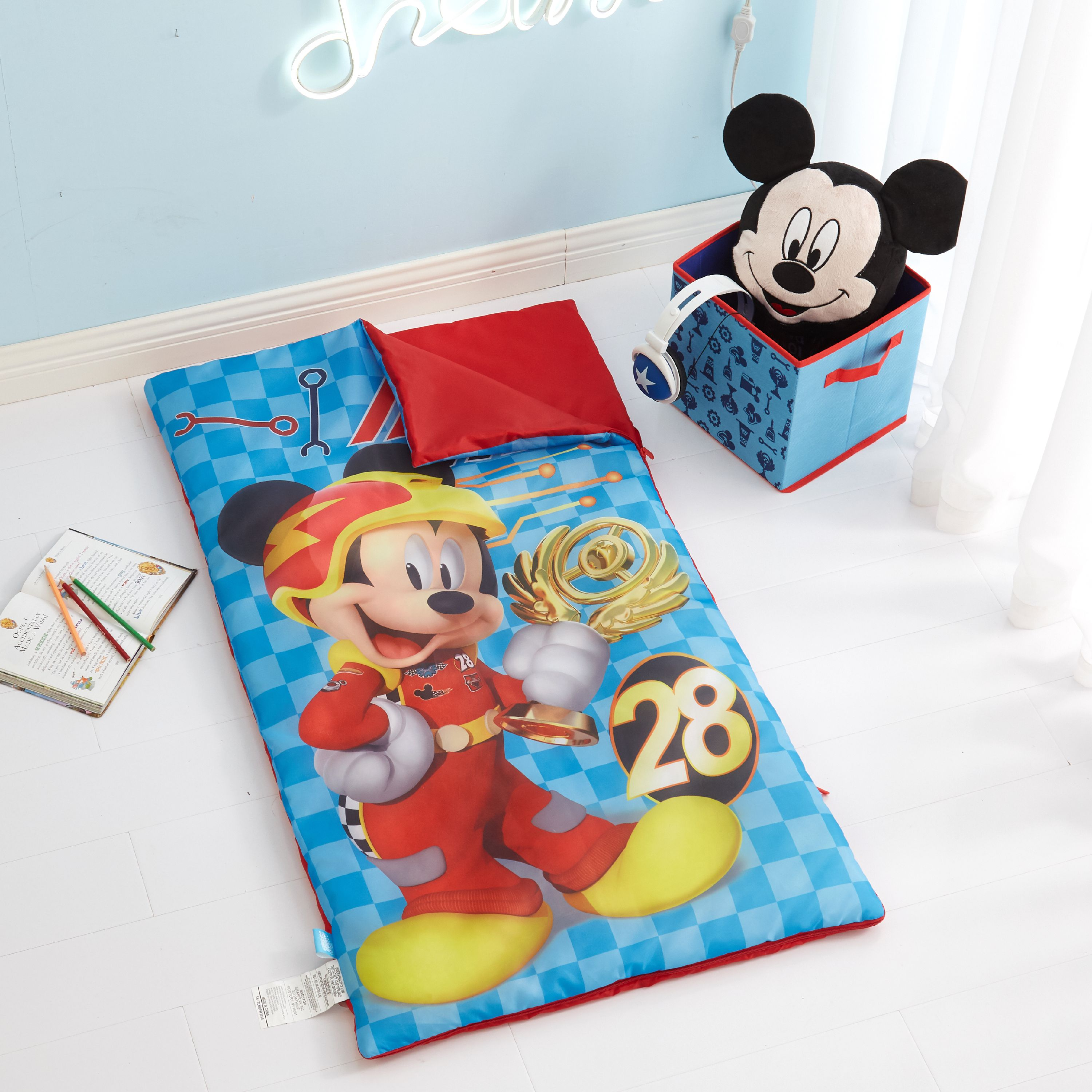 Disney Mickey Mouse 3 Piece Sleeping Bag Set