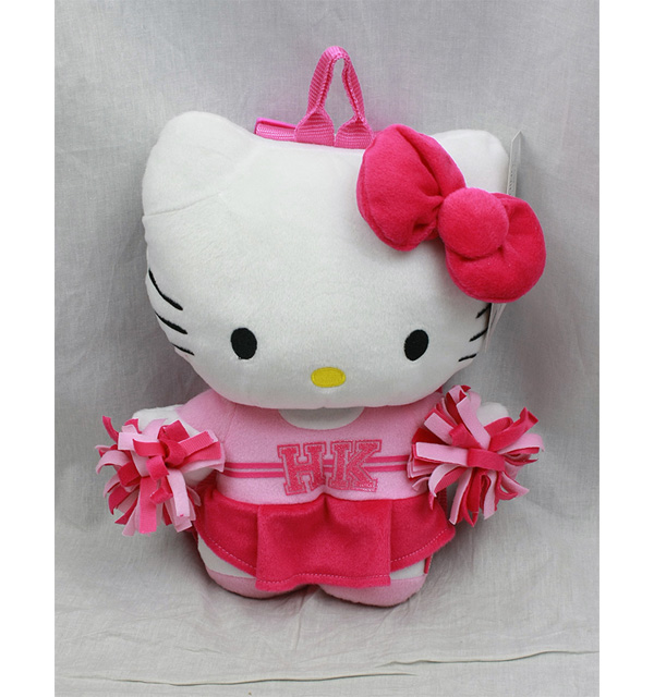 Plush Backpack Hello Kitty Cheer Leader Squad New Soft Doll Toys 68433 by FAB Starpoint