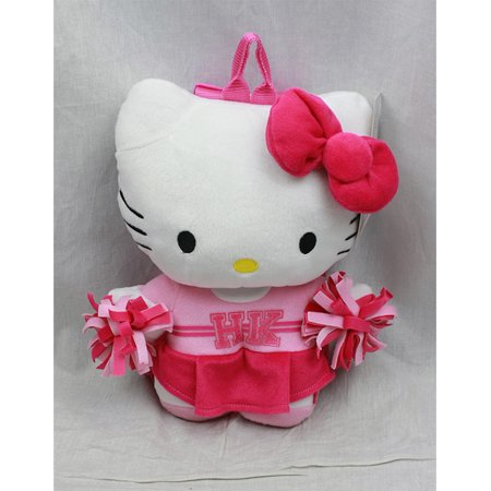 Plush Backpack - Hello Kitty - Cheer Leader Squad New Soft Doll Toys 68433 - Hello Kitty Accessories Wholesale