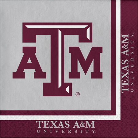 Texas A & M University Napkins, 20pk