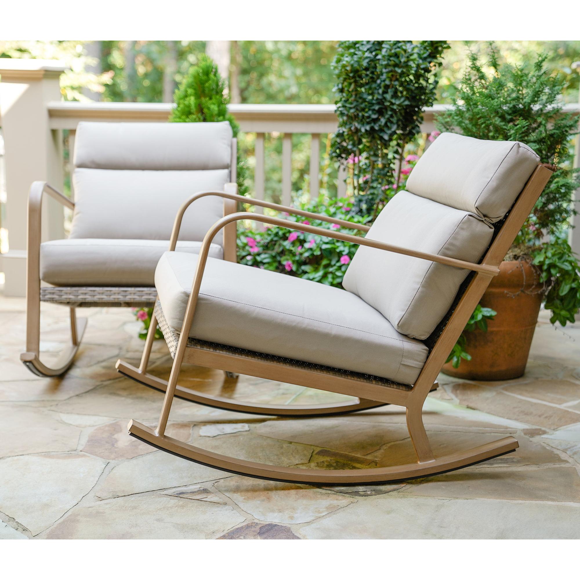 Talbot Outdoor Rocking Chair, Outdoor Furniture Rocking Chair